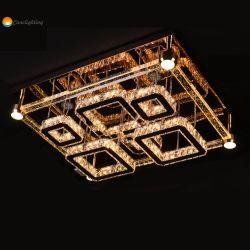 Het Licht van de nieuwe Moderne Populaire LEIDENE van de Rechthoek Tegenhanger van het Kristal voor de Decoratie van het Huis