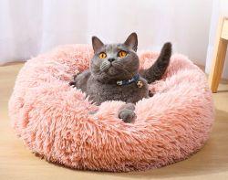Commerce de gros coussin doux de luxe personnalisé moelleux canapé-lit Pet