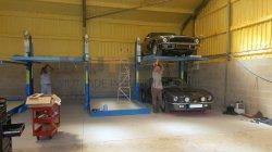Mutrade パーキングシステム Hydropark1127TPP 2 シリーズマルチレベルガレージカー ディーラーガレージの最もよい家のガレージ