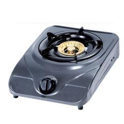 Tampo da mesa única queimadores queimadores de gás de aço inoxidável fogão fogão