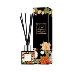 Reed de haute qualité Diffuseur en boîte à l'emballage personnalisé de l'arôme de bâtonnets de bouteille en verre de luxe en rotin diffuseur Reed Commerce de gros