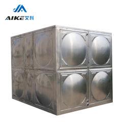 ISO9001 cuadrado de acero inoxidable fácil de instalar el depósito de agua gruesa