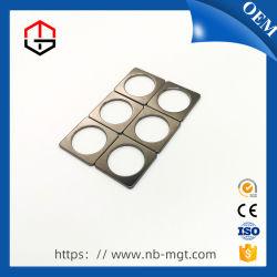 Черный с блоком Nickel-Plated перфорации постоянных неодимовых магнитов