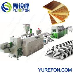 Plastikmaschine/Plastikzeile der Extruder/PVC Dach-Deckenverkleidung-Produktions-Line/Extrusion