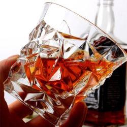 Whisky de la copa de vidrio cristal de vidrio para el hogar o el Hotel