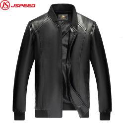 Nouveau mode d'hommes PU veste de cuir Biker vestes occasionnel