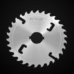 Massief Houtsnijden Tct Multi-Rip Cut Zaag Blade Roestvast Oppervlaktebehandeling Chroom Plating