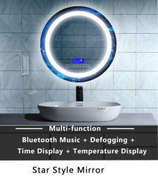 Ce/RoHSの照らされたMirror/LEDのミラーまたは浴室ミラーか構成ミラー