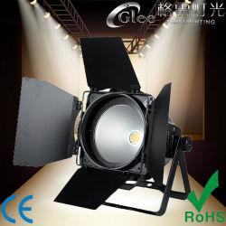 프로 200W 화이트 LED COB Stage PAR64 파