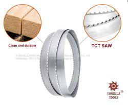 Высокое качество Sanhomt деревянной пилой полосы стальные зубья пильного полотна из закаленной стали для деревообрабатывающего