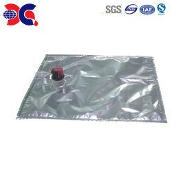 Embalagens de plástico de embalagem asséptica na casa 4L