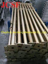 Оцинкованный сооружением Q235 стальную регулируемую того опоры или должность для опалубки
