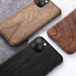 Sancore iPhone11 Caja de teléfono de madera