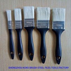 5 Kit de PCS de fibras sintéticas alça plástica Universal de Pintura da escova de limpeza