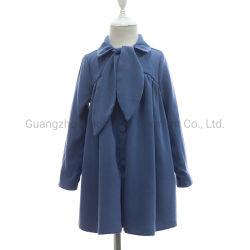 겨울 동안 솔질한 면 능직물 여자 아기 트랜치 코트는 재킷 제조자를 입는다 중국