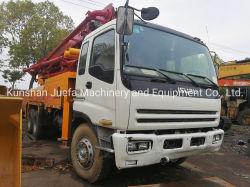 Pompe à béton camion utilisé éléphant 37m de longueur Putzmeister M36.4 M37 Truck-Moounted Pompe à béton