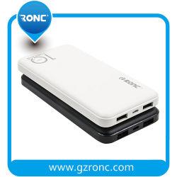Precio más competitivo 10000mAh cargador de móvil portátil USB doble Banco de potencia
