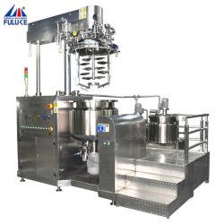 Crema cosmética Laboratorio Mezclador al vacío de alto cizallamiento elevadas homogeneizador de calefacción