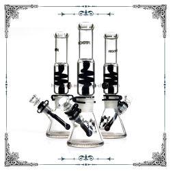 Bobina di vetro di Freezab del nero del narghilé della coppa di Phoenix di vendita calda che fuma configurazione del tubo di Wate un il vetro di Waterpipes