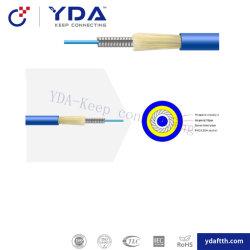 Vlecht van de Vezel van het Koord van het Flard FTTH Sc/FC/LC/St/Mu/E2000 het de Optische Gepantserde/Koord van het Flard