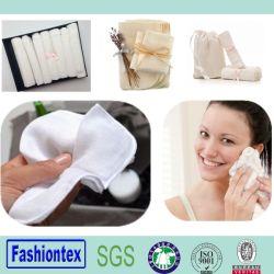 Muslin toalha de rosto quadrado de gaze pano de lavagem Pano Facial de Limpeza