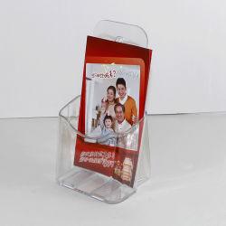 Folheto de plástico para Desktop Menu Cartão Presente folheto de suporte do visor