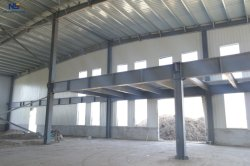 Materiais de Construção de estrutura de aço de proteção ambiental