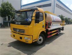 Fabricante de 5 metros cúbicos de 120 CV Dongfeng betún 4X2 de asfalto camión tanque de pulverización