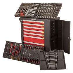 차량 정비를 위한 7개의 서랍 공구 내각을%s 가진 Kinbox 232 PCS 수공구 벨트 바퀴 상자