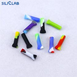 Filtro de silicona para secar la vainilla el tabaco el rollo de papel y soporte de tubo de silicona de cigarrillos de tabaco