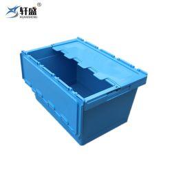 Empilables et imbriqués Plastique Le plastique se déplaçant Boîte avec couvercle à charnière