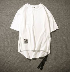 Commerce de gros hommes personnalisée Casual col rond T-Shirt à manches courtes de l'été sec rapide Shirts Vêtements de loisirs