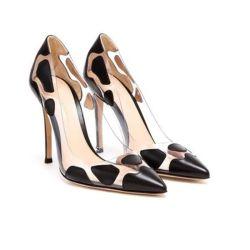 Últimas señaló señoras de la convergencia de las mujeres de Tacón Zapatos de Vestir