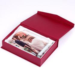 El logotipo impreso personalizado el marco de fotos Cristal para sublimación