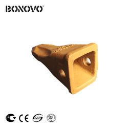 Bonovo R360の掘削機のバケツの歯の歯の先端は掘削機の坑夫のTrackhoeのバックホウのための釘の釘のアダプター61na-31320をひっくり返す