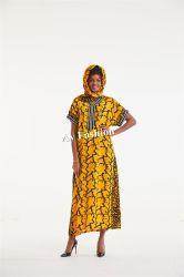 Верхняя продажа африканских одежда мода платья женщин одежды с люка камнеуловителя