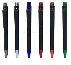 Penne di Ballpoint di plastica promozionali della penna di sfera del regalo della cancelleria del banco
