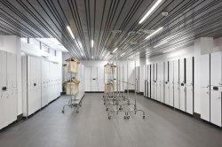 Линейные лампы 2019 20W 600 мм утопленную свет свободно распространяемым яркий 600мм 1200мм белый архитектурного освещения опоры маятниковой подвески с рейками линейные светодиодные лампы подвешивания