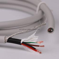Strong Anti-Interference 5 магистральный кабель отведений ЭКГ провода с проведения в качестве экрана