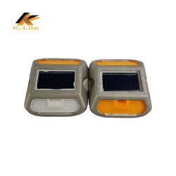 Отражатель дорожного движения солнечной энергии солнечного света док-Cat Дорожного Движения глаз света солнечных шпилька дорожного движения