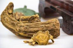 Природных соединений серы - лист ревеня извлекается из китайской травяной медицине