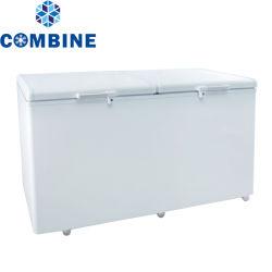 Économies d'énergie faible bruit congélateur à température unique Haut de la porte ouverte congélateur coffre 358L