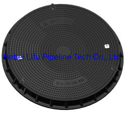 De diámetro grande de alta calidad impermeable SMC Telcom Tapa de Registro D400 de Fibra de Vidrio compuesto de FRP hermético Redonda tapa de registro