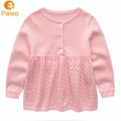 製造業者のカスタム刺繍デザイン秋のクリスマスの編む綿の赤ん坊の服