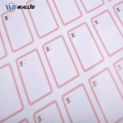 Folha de inlay de cartões RFID para Smart Card, Folha de PVC para o Cartão de ID/inlays RFID/Prelam RFID layout personalizado