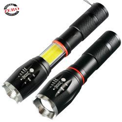 800lm再充電可能な非常灯の高い発電LEDの懐中電燈