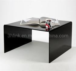 Comercio al por mayor acrílico transparente acrílico acrílico muebles modernos de mesa de café