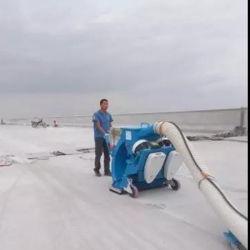 路面の砂吹きのための携帯用移動式砂の発破工