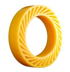 印刷企業シートの挿入のための赤く及び黄色PU日曜日の車輪