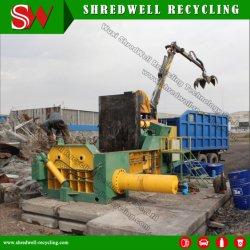 Автоматические гидравлические металлолома пресс для переработки отходов из стали и алюминия/утюг